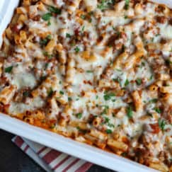5-Ingredient Baked Ziti