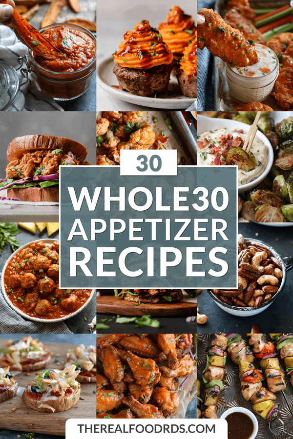 Pin image for 30 Whole30 Appetizer Recipes