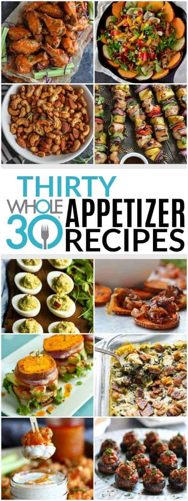 30 Whole30 Appetizers pin