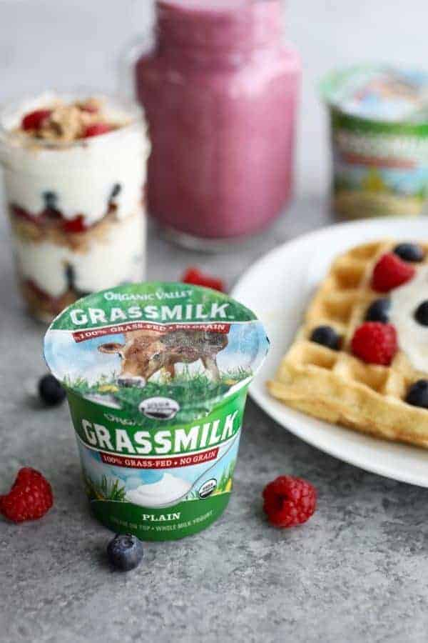 organic valley grass milk yogurt