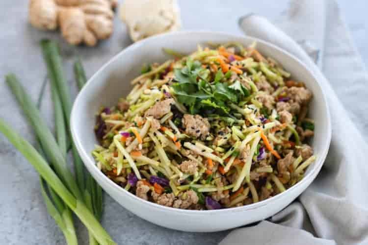 Easy Egg Roll in a Bowl (Whole30)