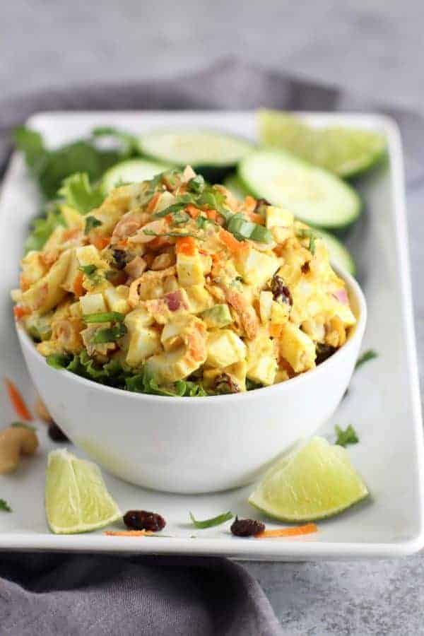 Egg Salad in a bowl.