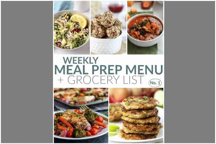 weekly food