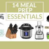 14 Meal Prep Essentials