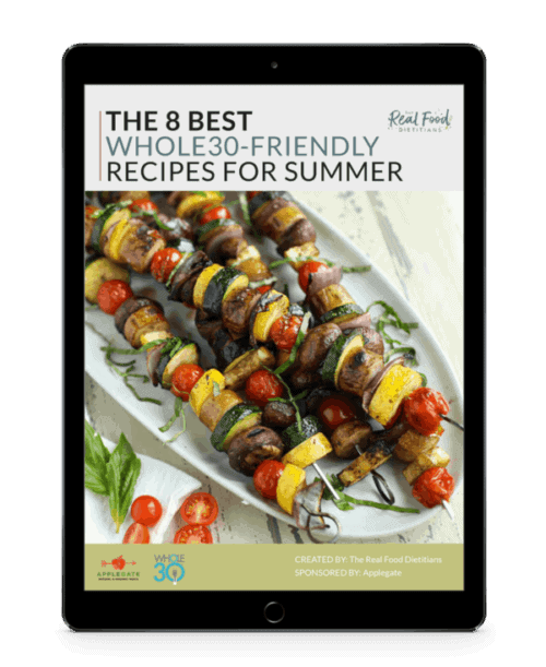 Newsletter sign up the real food dietitians subscribe to our mailing list to get your free recipe ebook featuring the 8 best whole30 friendly recipes for summer weekly newsletters with new recipes forumfinder Image collections