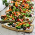 Gluten-free Veggie Pizza