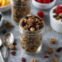 Crunchy Nut-free Paleo Granola