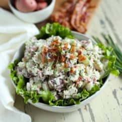 Bacon Chive Potato Salad