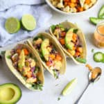 Vegan Cauliflower Sweet Potato Tacos