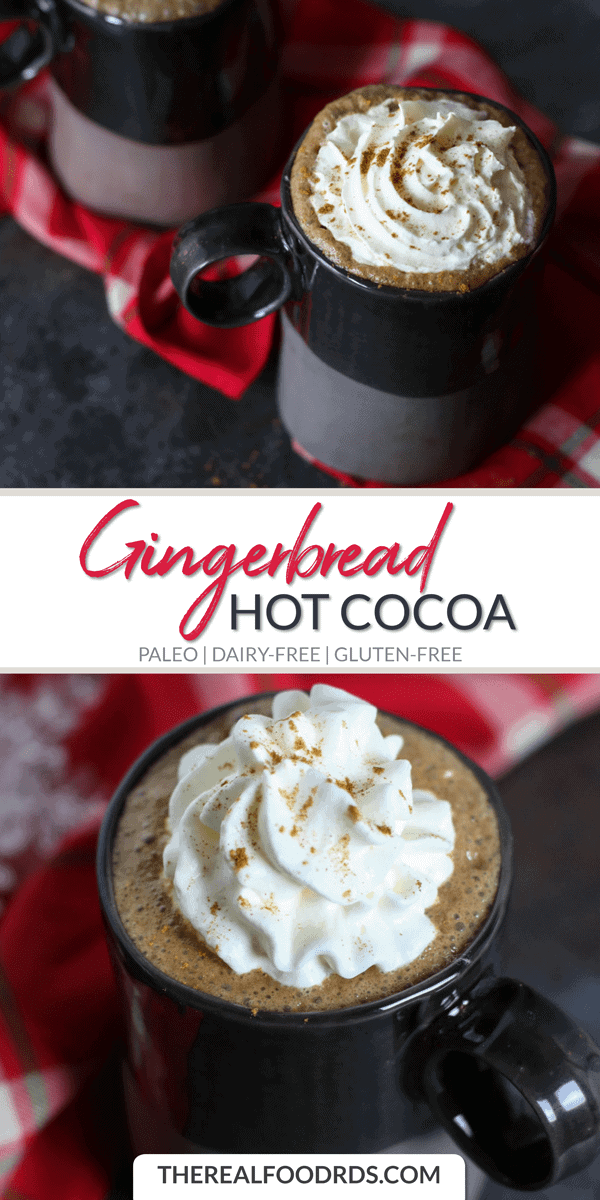 Long Pin Image for Gingerbread Hot Cocoa