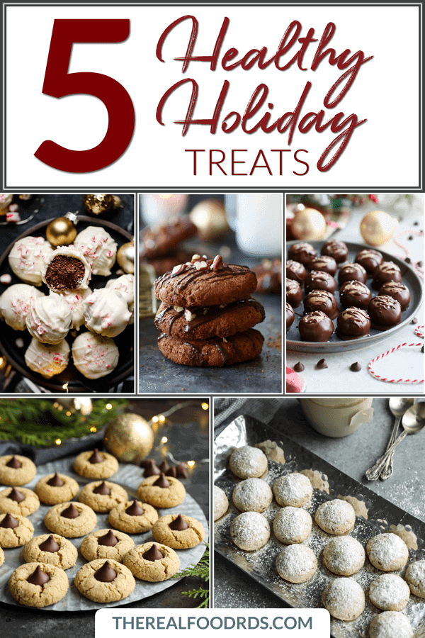 Short Pin Image for 5 Healthy Holiday Treats