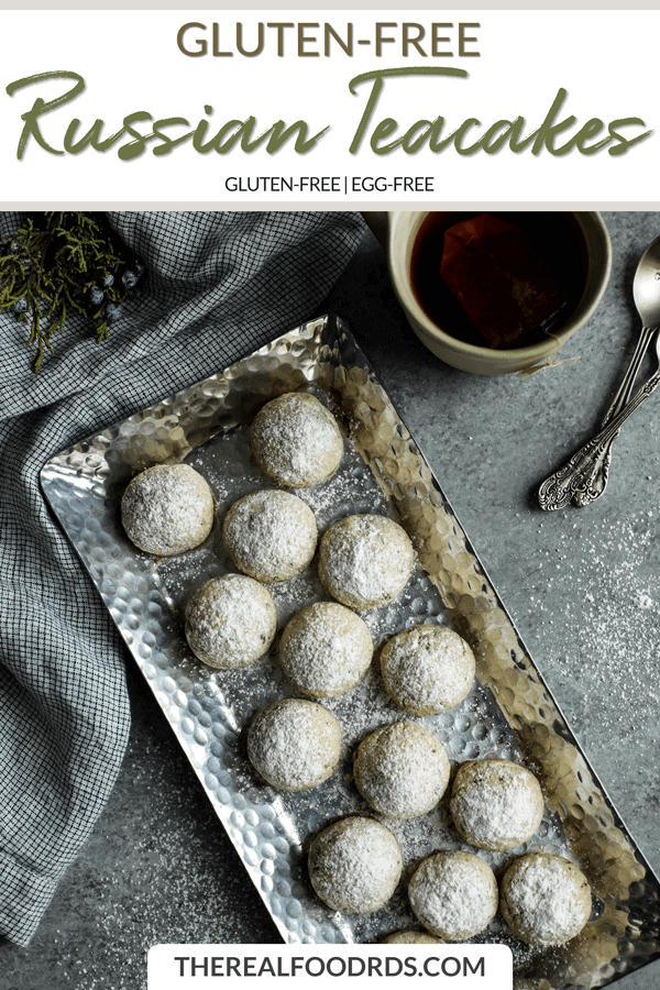 Short Pin Image for Gluten-free Russian Teacakes