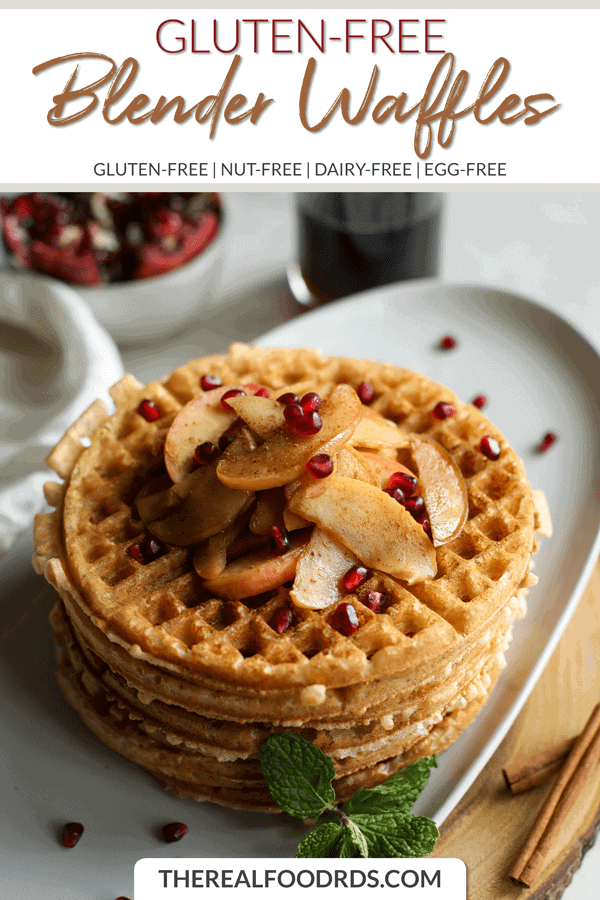 Short Pin Image for Gluten-free Blender Waffles