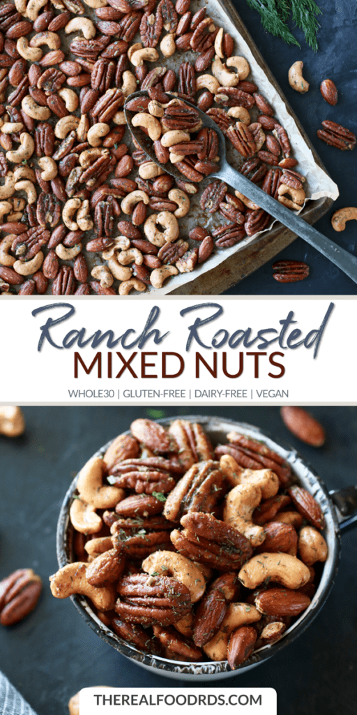 Long Pin Image for Ranch Roasted Mixed Nuts