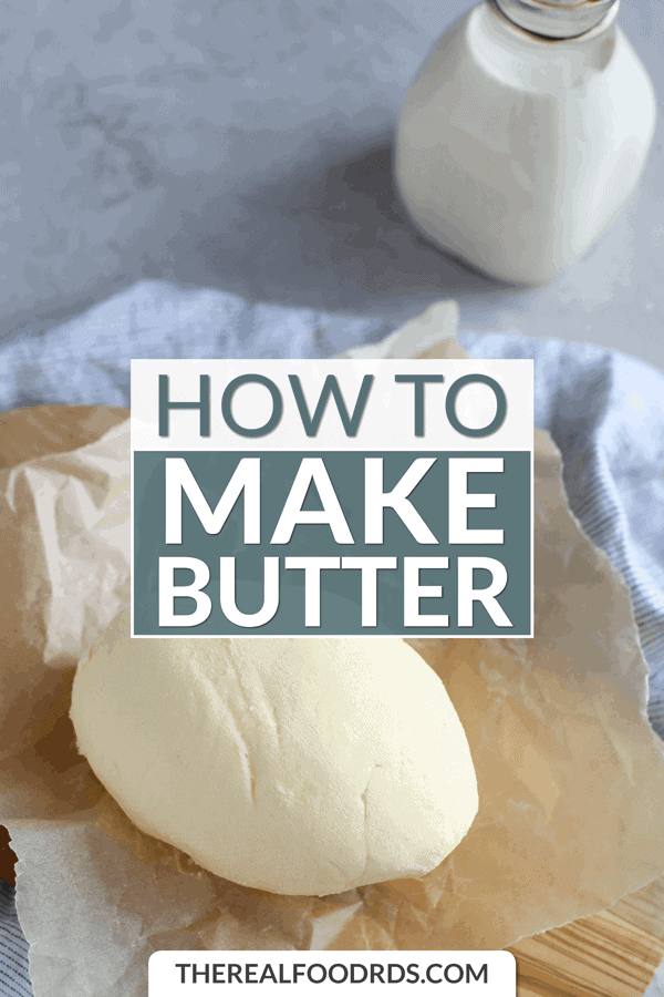 Short Pin Image for How to Make Butter