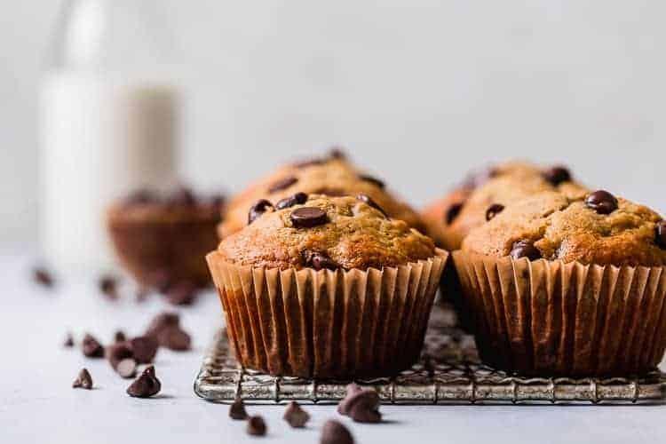 Banana chocolate chip muffin recipe uk