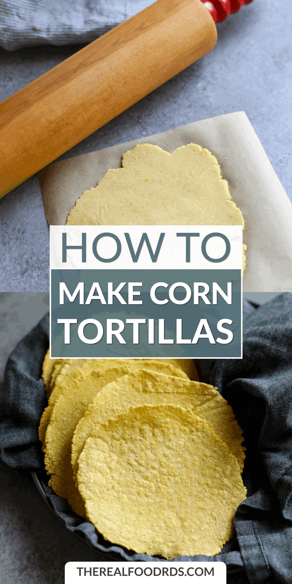 Long Pin Image for How to Make Corn Tortillas