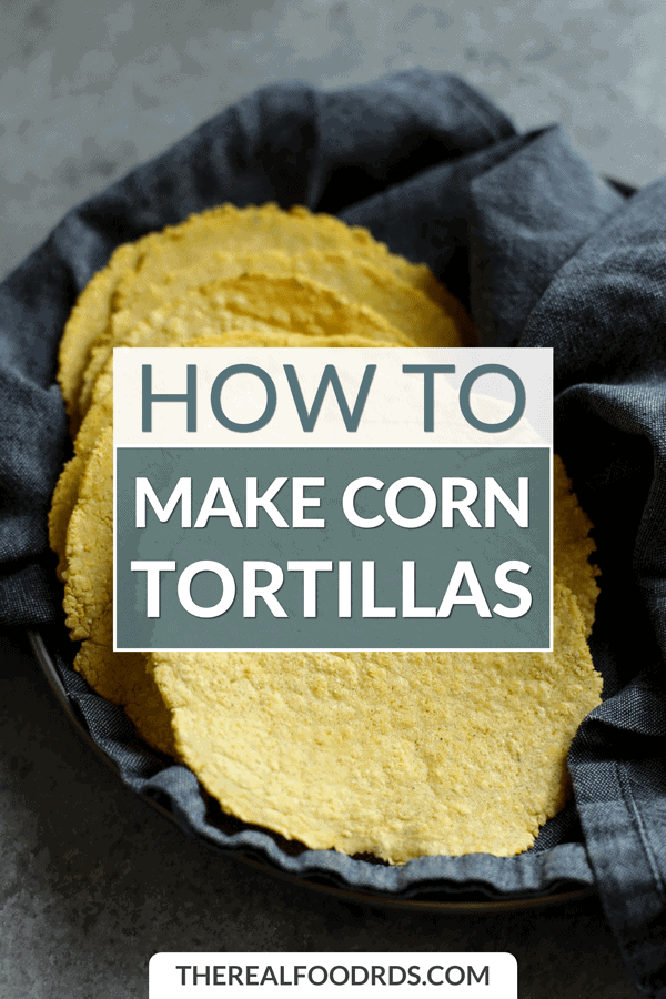 Short Pin Image for How to Make Corn Tortillas
