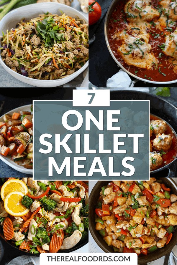 Short Pin Image for 7 One Skillet Meals