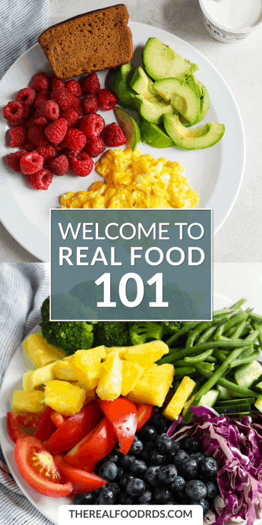 Long Pin Image for Welcome to Real Food 101