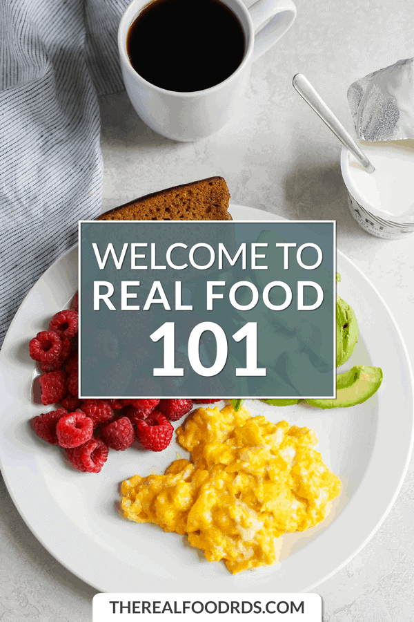 Small Pin Image for Welcome to Real Food 101