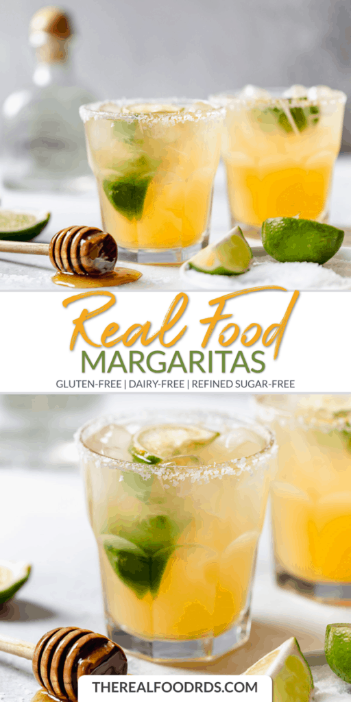 Short Pin Image for Real Food Margaritas
