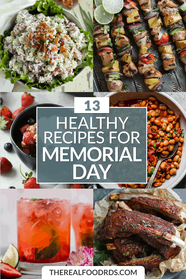 Pinterest image for 13 Healthy Recipes for Memorial Day
