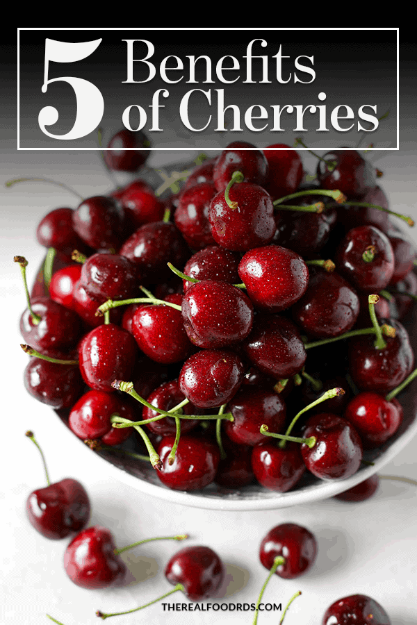 Pin image for 5 Benefits of Cherries