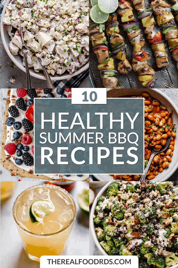 Pin image for 10 Healthy Summer BBQ Recipes