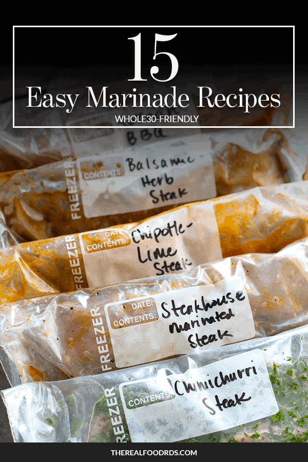 Pin image for 15 Easy Marinade Recipes