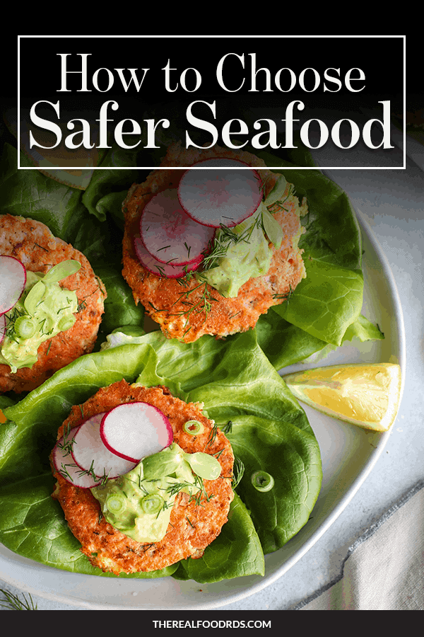 Pinterest image for How to Choose Safer Seafood