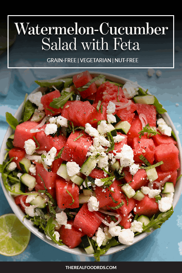 Pin image for Watermelon-Cucumber Salad with Feta