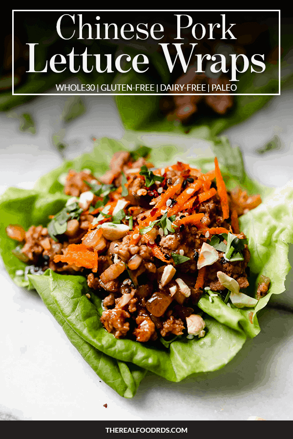 Pin image for Chinese Pork Lettuce Wraps