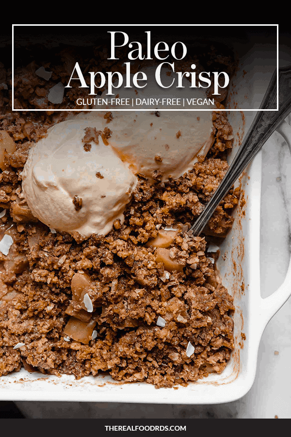 Pin image for Paleo Apple Crisp
