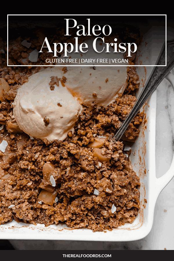 Pin image for Paleo Apple Crisp