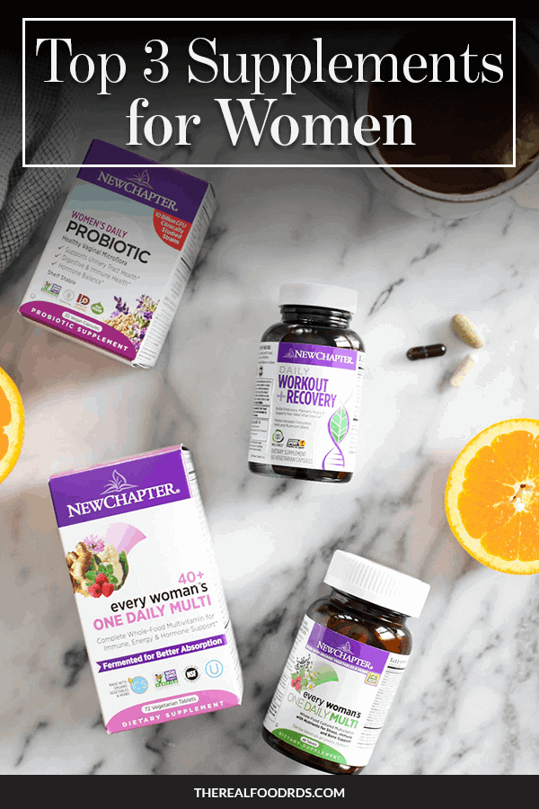 Pin image for Top 3 Supplements for Women