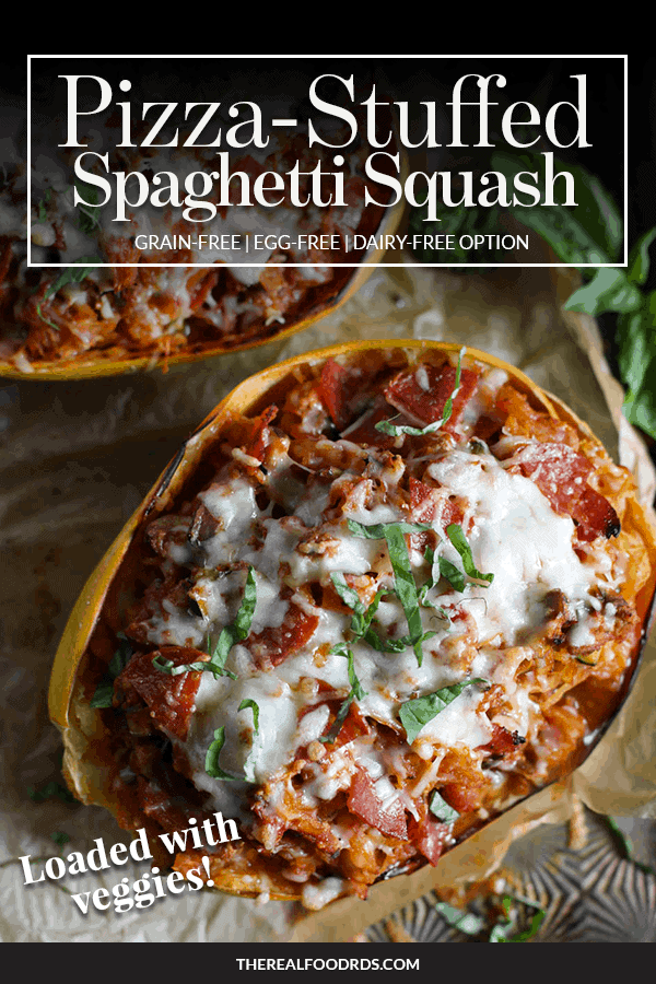 Pin image for Pizza-Stuffed Spaghetti Squash