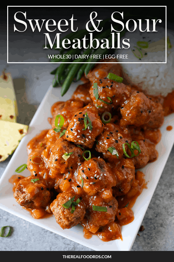 Pin image for Sweet & Sour Meatballs