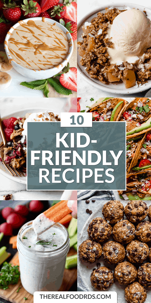 Pin image for 10 Kid-Friendly Recipes