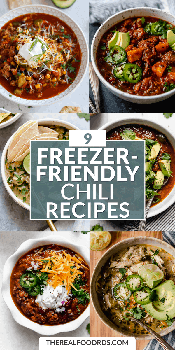 Pin image for 9 Freezer-Friendly Chili Recipes