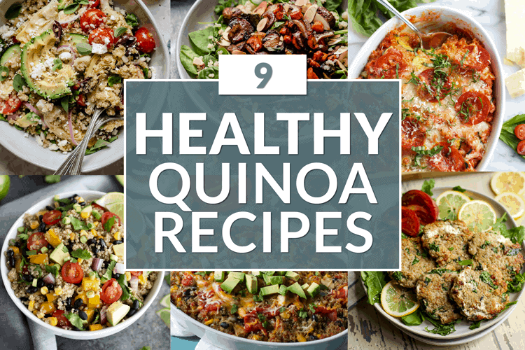 Collage of Healthy Quinoa Recipes
