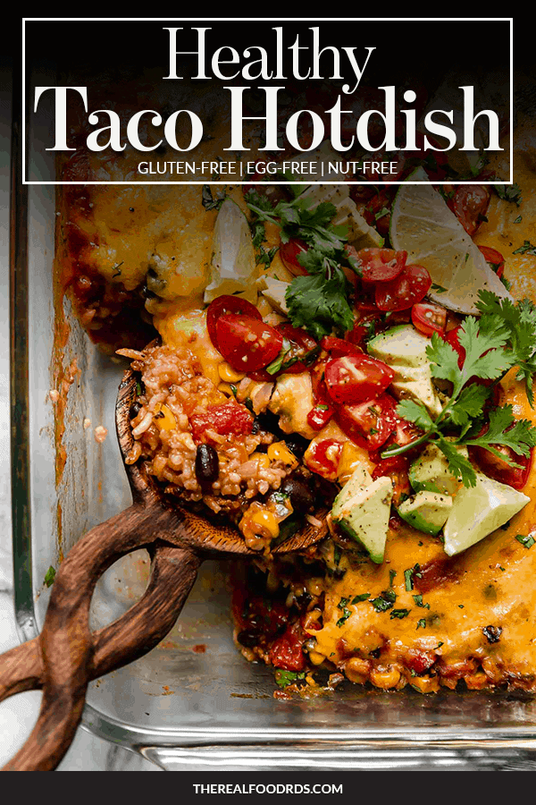 Pin image for Healthy Taco Hot Dish