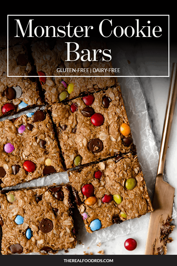 Pin image for Monster Cookie Bars