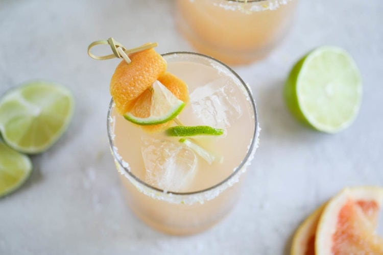 Low-Sugar Paloma – The Real Food Dietitians