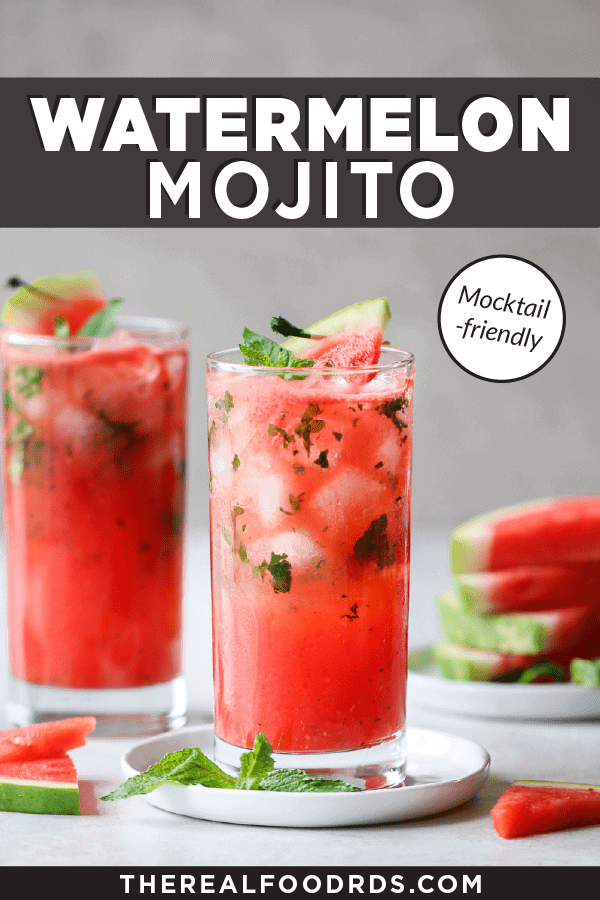 Pin image for Watermelo Mojito