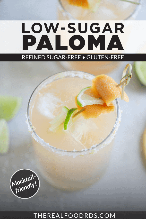Pin image for Low-Sugar Paloma