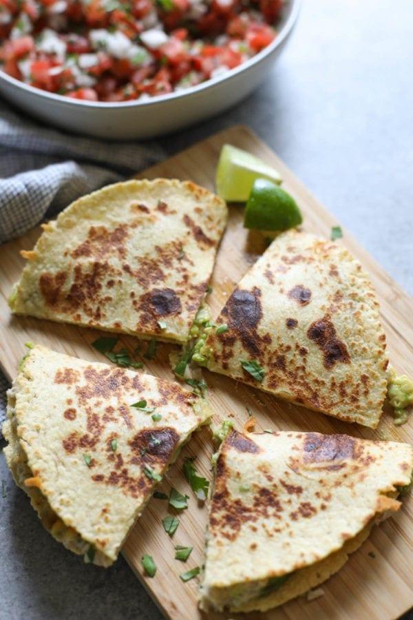 Tuna Melt Quesadillas - The Real Food Dietitians 2