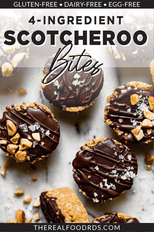 Pin image for 4-Ingredient Scotcheroo Bites