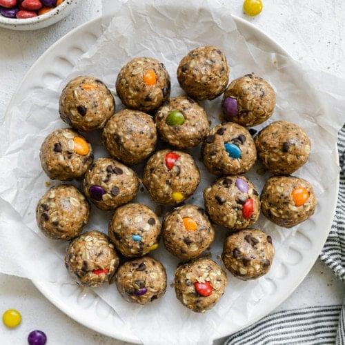 Monster Cookie Protein Balls 10