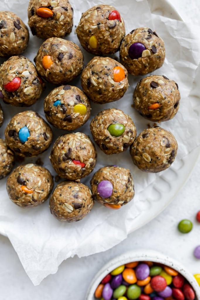 Monster Cookie Protein Balls 5